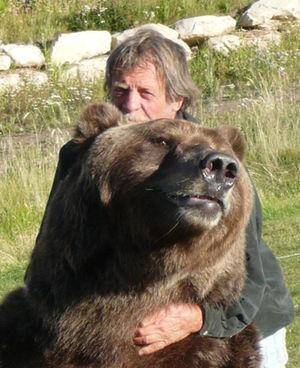 Bart the Bear 2 - Bart the Bear 2 with Doug Seus in 2010