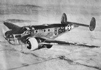 Bisbee Douglas International Airport - Douglas C-45 Expeditor trainer, 1944