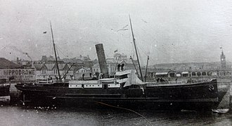 SS Douglas (1889) - Image: Douglas berthed at the Red Pier