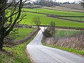 Down the hill to Whissendine Road - geograph.org.uk - 144481.jpg