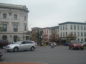 Gettysburg, Pennsylvania - Image: Downtown Gettysburg PA