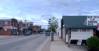 Sussex, New Brunswick - Downtown Sussex