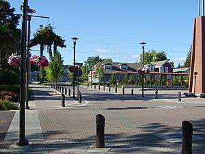 Washougal, Washington - Downtown Washougal facing north