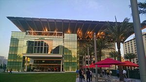 Dr. Phillips Center for the Performing Arts - Exterior of venue (c.2014)