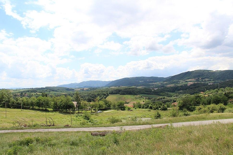 Dračić - opština Valjevo - zapadna Srbija - panorama 8