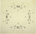 Drawing, Ceiling of a Small Cabinet, Palazzo Quirinale, Rome, 1812 (CH 18540095).jpg