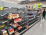 Dried pasta shelves empty in an Australian supermarket.jpg