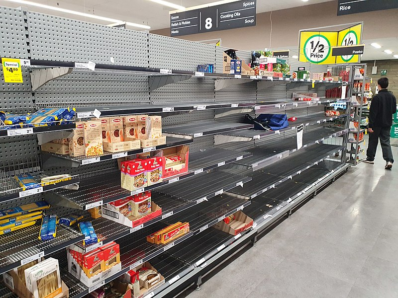 File:Dried pasta shelves empty in an Australian supermarket.jpg