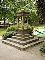 Drinking fountain, Luddenden Foot Park - geograph.org.uk - 1336790.jpg
