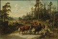 Driving Cattle in Småland (Nils Andersson) - Nationalmuseum - 17938.tif