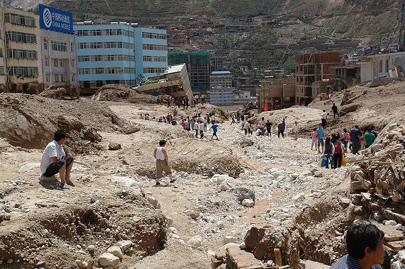 File:Drugchu County Mudslide Aftermath (4881989657).jpg