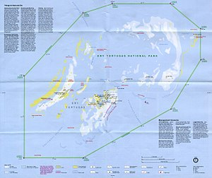Dry Tortugas - National Park Service map of the Dry Tortugas