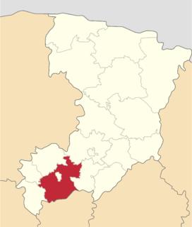 Dubno Raion Subdivision of Rivne Oblast, Ukraine