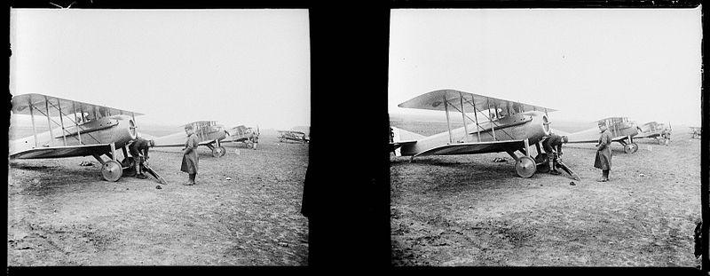 File:Dugny. RGA. Biplan SPAD - Fonds Berthelé - 49Fi665.jpg