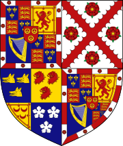 Coat of arms (Dukes of Richmond of the 1675 creation)