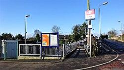 Dunlop station access, East Ayrshire, Scotland.jpg
