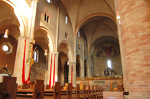 Lodi Cathedral - The nave