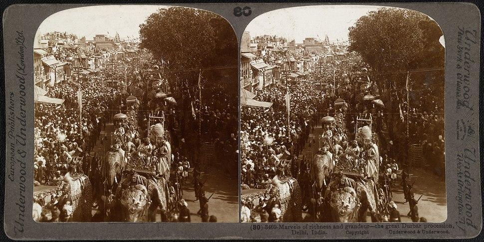 Durbar Procession in 1903