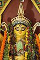 Durga Face - Biswamilani Club - Padmapukur Water Treatment Plant Road - Howrah 2013-10-14 3467.JPG