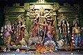 Durga Family - Durga Puja Pandal - Singhi Park - Dover Lane - Kolkata 2015-10-21 6206.JPG