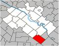 Durham-Sud Quebec location diagram.PNG