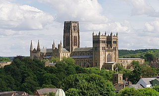 Durham Cathedral Church in Durham, England