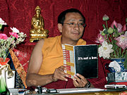 The Dzogchen Ponlop Rinpoche uses his specially altered edition of the text, The Progressive Stages of Meditation on Emptiness, to suggest what's meant by, for example, emptiness of self.