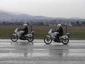 Honda Transalp - Transalp 650 is the motorcycle of the Greek Police