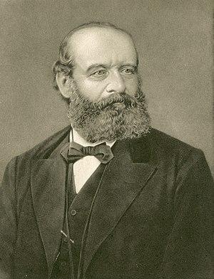 Alfred Escher - Portrait of Alfred Escher, c. 1875