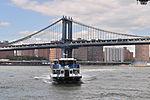 East River Ferry & Manhattan Bridge 01 (9427295554).jpg