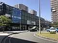 East entrance of Chihaya Station and Nishitetsu-Chihaya Station.jpg