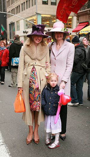 Easter parade - Image: Easter parade 1