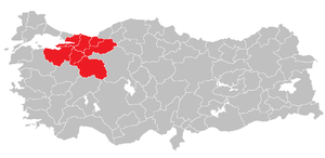 East Marmara Region (statistical) - Image: Eastern Marmara Region