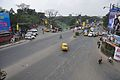 Eastern Metropolitan Bypass & Canal South Road Junction - Chingrighata Flyover - Kolkata 2012-01-19 8392.JPG