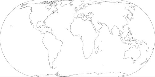 A map of the world showing where Wikimedia data centers are located.