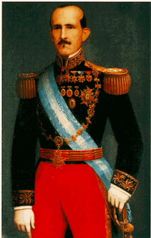 Battle of Guayaquil - General Juan José Flores, the first President of Ecuador and leader of García Moreno's army