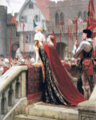 Edmund Blair Leighton - A Little Prince likely in Time to bless a Royal Throne.png