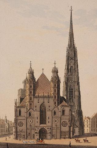 Собор Святого Стефана, Вена.