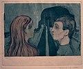 Edvard Munch. Attraction II (Tiltrekning II). 1895 (24779459290).jpg