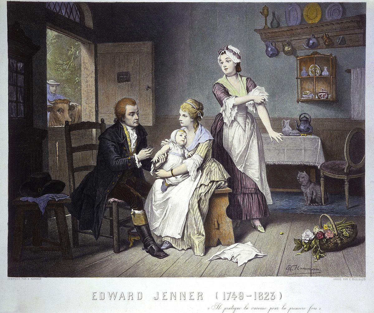 The life and legacy of Dr Edward Jenner FRS, pioneer of vaccination