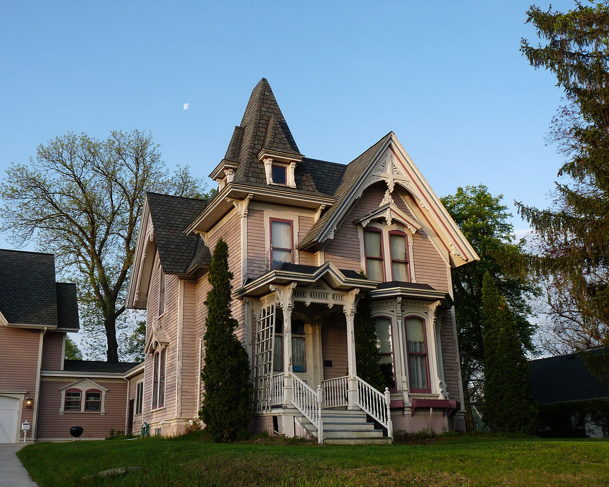 edward m  hackett house