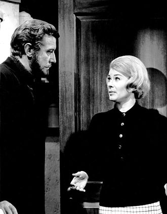 The Ghost & Mrs. Muir (TV series) - Edward Mulhare and Hope Lange, 1968.