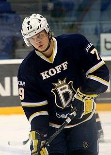 Eetu Pöysti Finnish ice hockey player
