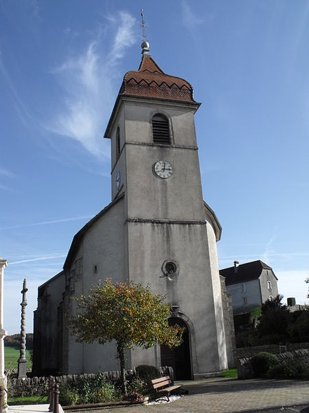 Eglise de Chamesol (Doubs, France)