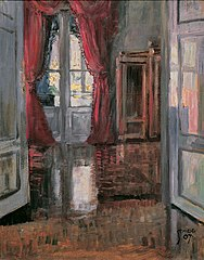 View into the Apartment of Leopold and Marie Czihaczek