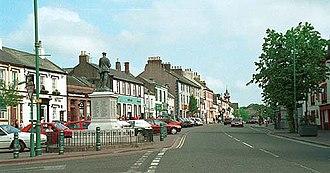 Egremont, Cumbria - Image: Egremont main street