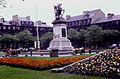 Eldon Square war memorial, 1966.jpg