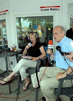 Eleanor Mondale - Mondale interviewed Fred Thompson at the 2007 Minnesota State Fair.