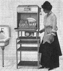 Lavastoviglie elettrica del 1917