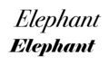 Elephant vs Bodoni.png